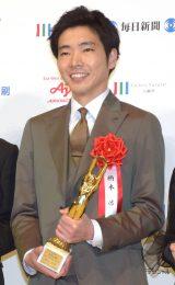 『第73回毎日映画コンクール』の表彰式に出席した柄本佑 (C)ORICON NewS inc.