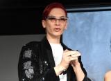 『NYX Professional Makeup』プレス発表会に登場したMiss Fame (C)ORICON NewS inc.