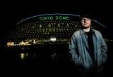 東京ドームの前で撮影した親日家のエド・シーラン