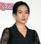 『第73回毎日映画コンクール』の表彰式に出席した木竜麻生 (C)ORICON NewS inc.