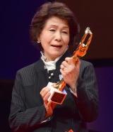 『第73回毎日映画コンクール』の表彰式に出席した白川和子 (C)ORICON NewS inc.