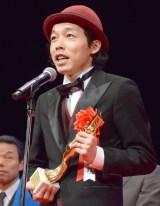 『第73回毎日映画コンクール』の表彰式に出席した上田慎一郎監督 (C)ORICON NewS inc.
