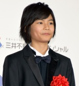 『第73回毎日映画コンクール』の表彰式に出席した城桧吏 (C)ORICON NewS inc.
