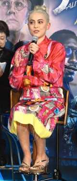 映画『アリータ:バトル・エンジェル』のイベント『究極のクリエイターズセッションwithキズナアイ』に出席したローサ・サラザール (C)ORICON NewS inc.