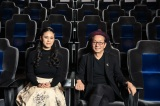 映画『轢き逃げ -最高の最悪な日-』(5月10日公開)の水谷豊監督とテーマソング「こころをこめて」を歌う手嶌葵(C)2019映画「轢き逃げ」製作委員会