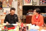 16日放送の『関ジャニ∞クロニクル』に出演する船越英一郎と錦戸亮 (C)フジテレビ