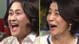 2月15日放送、テレビ朝日系『ザワつく金曜日』でものまね芸人・神奈月が高嶋ちさ子のものまねに初挑戦(C)テレビ朝日