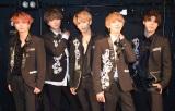 アルバム『Party in the SKY』を発売するADDICTION(JOSHUA、TAKT、K.B、MYUJI、ASCH) (C)ORICON NewS inc.