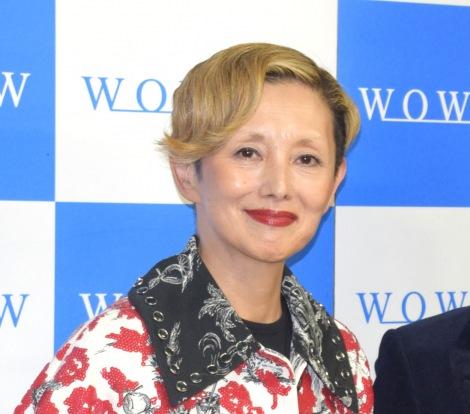 WOWOWプライム『ドラマW 今日、帰ります。』トークイベントに出席した夏木マリ (C)ORICON NewS inc.