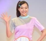 会見でお披露目された「初代体操のお姉さん」秋元杏月 (C)ORICON NewS inc.
