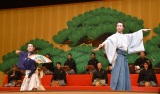 (左から)中村勘九郎、中村七之助=『江戸まち たいとう芸楽祭』クロージングイベント (C)ORICON NewS inc.