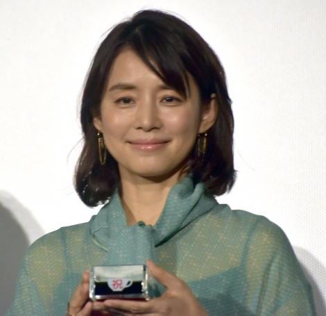 映画『コーヒーが冷めないうちに』初日舞台あいさつに登壇した石田ゆり子 (C)ORICON NewS inc.