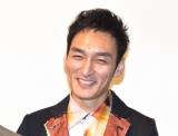 映画『まく子』の完成披露上映会の舞台あいさつに出席した草なぎ剛 (C)ORICON NewS inc.
