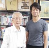 生前の黒澤満さんと仲村トオル