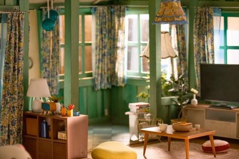 カオルさんの部屋\u003dNetflixオリジナルシリーズ『リラックマとカオルさん』(Netflix