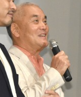 映画『ねことじいちゃん』初日舞台あいさつに登壇した岩合光昭監督 (C)ORICON NewS inc.