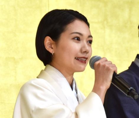 映画『翔んで埼玉』初日舞台あいさつに登壇した二階堂ふみ (C)ORICON NewS inc.