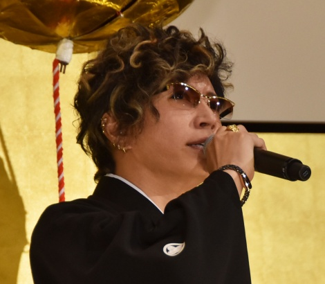 映画『翔んで埼玉』初日舞台あいさつに登壇したGACKT (C)ORICON NewS inc.