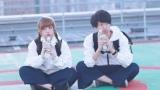 男女2人組YouTuber・パオパオチャンネル(左から)@小豆、ぶんけい(C)UUUM