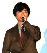 染谷将太=映画『サムライマラソン』の公開記念舞台あいさつ (C)ORICON NewS inc.