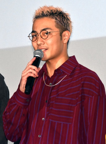 BOYS AND MENの田中俊介=映画『ジャンクション29』公開記念舞台あいさつ (C)ORICON NewS inc.