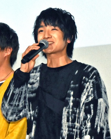 BOYS AND MENの本田剛文=映画『ジャンクション29』公開記念舞台あいさつ (C)ORICON NewS inc.