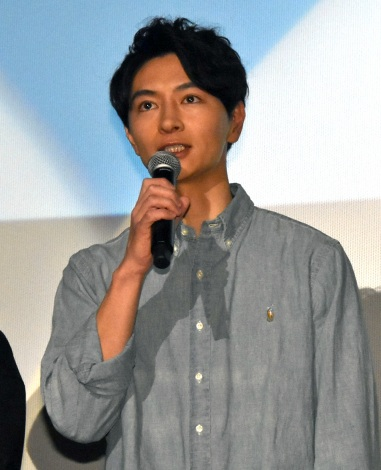 細田善彦=映画『ジャンクション29』公開記念舞台あいさつ (C)ORICON NewS inc.