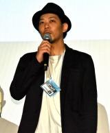 ウエダアツシ監督=映画『ジャンクション29』公開記念舞台あいさつ (C)ORICON NewS inc.