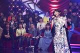 2月24日放送、テレビ東京系『平成ヒットソングス!〜次の年号に持っていきたい名曲SP〜』で「ハナミズキ」を披露する一青窈(C)テレビ東京