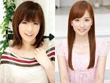 テレビ東京のサッカー情報番組『FOOT×BRAIN』が放送400回。アシスタントを務めた杉崎美香(左)と皆藤愛子(右)から祝福のコメント
