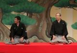 笑福亭松之助さんとの思い出を語った明石家さんま(写真は2008年11月の松之助さん芸能生活60周年記念イベント)