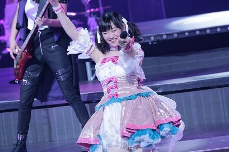 『TOKYO MX presents「BanG Drream!7th☆LIVE」』のDAY2「Genesis」に登場した前島亜美(C)BanG Dream! Project