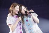 (左から)桜井玲香、白石麻衣=『乃木坂46「7th YEAR BIRTHDAY LIVE」DAY1』より