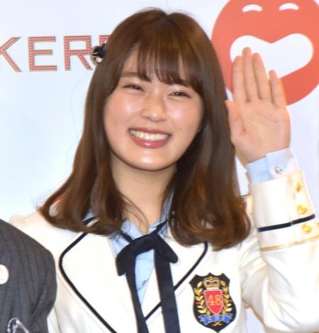 『KEREN(ケレン)』初日を観劇したNMB48・渋谷凪咲 (C)ORICON NewS inc.