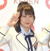 『KEREN(ケレン)』初日を観劇したNMB48・岩田桃夏 (C)ORICON NewS inc.