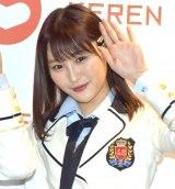 『KEREN(ケレン)』初日を観劇したNMB48・川上礼奈 (C)ORICON NewS inc.