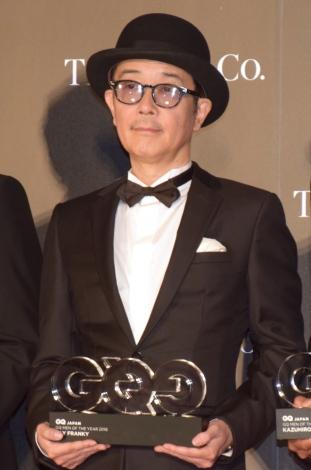 『GQ MEN OF THE YEAR 2018』を受賞したリリー・フランキー (C)ORICON NewS inc.