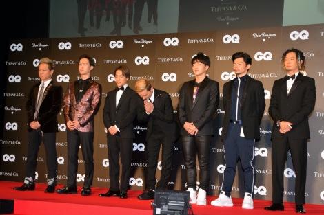 『GQ MEN OF THE YEAR 2018』を受賞したDA PUMP (C)ORICON NewS inc.