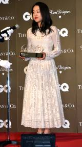 『GQ WOMAN OF THE YEAR』を受賞した浅田真央 (C)ORICON NewS inc.