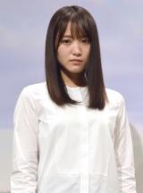 『イオンカード 欅坂46 キャンペーンキャラクター』の就任イベントに出席した欅坂46・菅井友香 (C)ORICON NewS inc.
