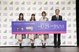 『イオンカード 欅坂46 キャンペーンキャラクター』の就任イベントの模様