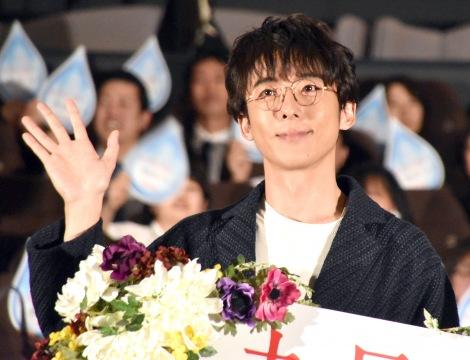 映画『九月の恋と出会うまで』公開直前イベントに出席した高橋一生 (C)ORICON NewS inc.