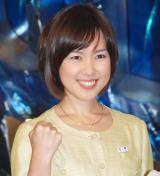 結婚を発表した高畑百合子アナウンサー(写真は2010年2月撮影) (C)ORICON NewS inc.