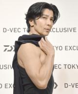 ファッションブランド『D-VEC TOKYO EXCLUSIVE』オープニングイベントに登場した武田真治 (C)ORICON NewS inc.