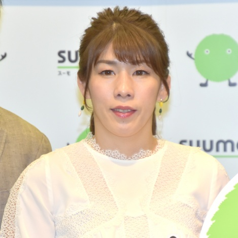 『SUUMO 住みたい街ランキング2019関東版』発表会にゲストとして参加した吉田沙保里 (C)ORICON NewS inc.