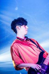 尼川元気(ベース)=『flumpool FAN MEETING 〜FM SAKAI 2019〜』初日 Photo by 渡邉 一生