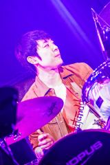 小倉誠司(ドラム)=『flumpool FAN MEETING 〜FM SAKAI 2019〜』初日 Photo by 渡邉 一生