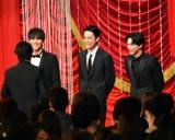 『第42回日本アカデミー賞』で新人俳優賞を受賞した(左から)中川大志、成田凌、吉沢亮 (C)ORICON NewS inc.