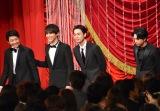 『第42回日本アカデミー賞』で新人俳優賞を受賞した(左から)伊藤健太郎、中川大志、成田凌、吉沢亮 (C)ORICON NewS inc.