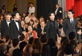 『第42回日本アカデミー賞』で新人俳優賞を受賞した(左から)中川大志、伊藤健太郎、吉沢亮、成田凌 (C)ORICON NewS inc.